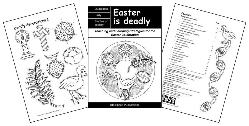 Easter is Deadly logo